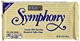 symphony candy bar - Hershey's Symphony Milk Chocolate with Almonds & Toffee Bar, 6.8-Ounce Bar