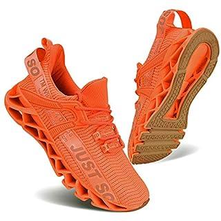 UMYOGO Womens Casual Walking Sneakers Fashion Workout Athletic Shoe for Women Running Sport Aerobics Orange