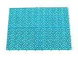 4PCS Soft Pebbles Blue Kewang Foot Massage Toe Mat Health Care Acupuncture Shiatsu Circulation Reflexology (pebbleblue)