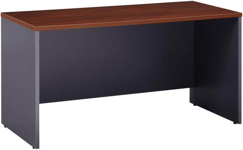 Bush Business Series C 60W x 24D Credenza Desk in Hansen Cherry