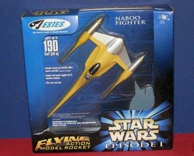 Star Wars Naboo Fighter Flying Action Model Rocket - Estes, The world leader in model rockets by Estes