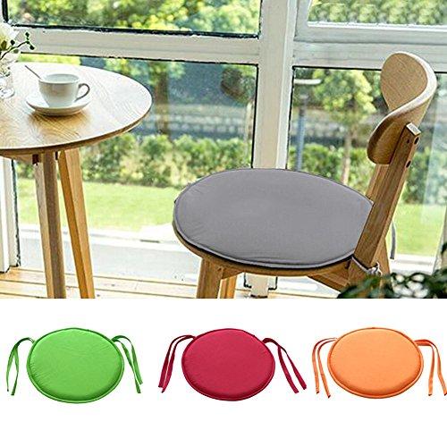 Cuscini Per Sedie Cucina Rotondi.Emvanv Cuscino Rotondo Imbottito Per Sedia Da Interno Per Sala