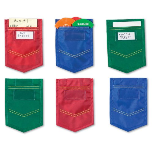Learning Resources Magnetic Mini Pockets Set of 6 (LER6445)