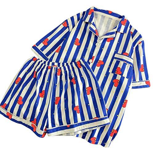 BT21 Pajamas for Women Bangtan Boys Sleepwear Nightgown Harajuku Shirt Pants Summer 2 Piece BTS Pyjama Sets