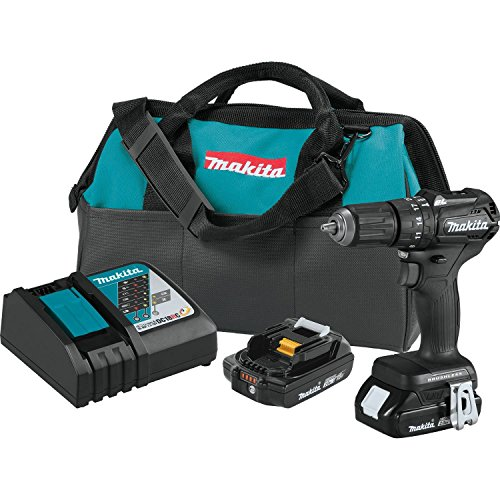 Sub Compact Driver Kit (Makita XPH11RB 18V LXT Lithium-Ion Sub-Compact Brushless Cordless 1/2