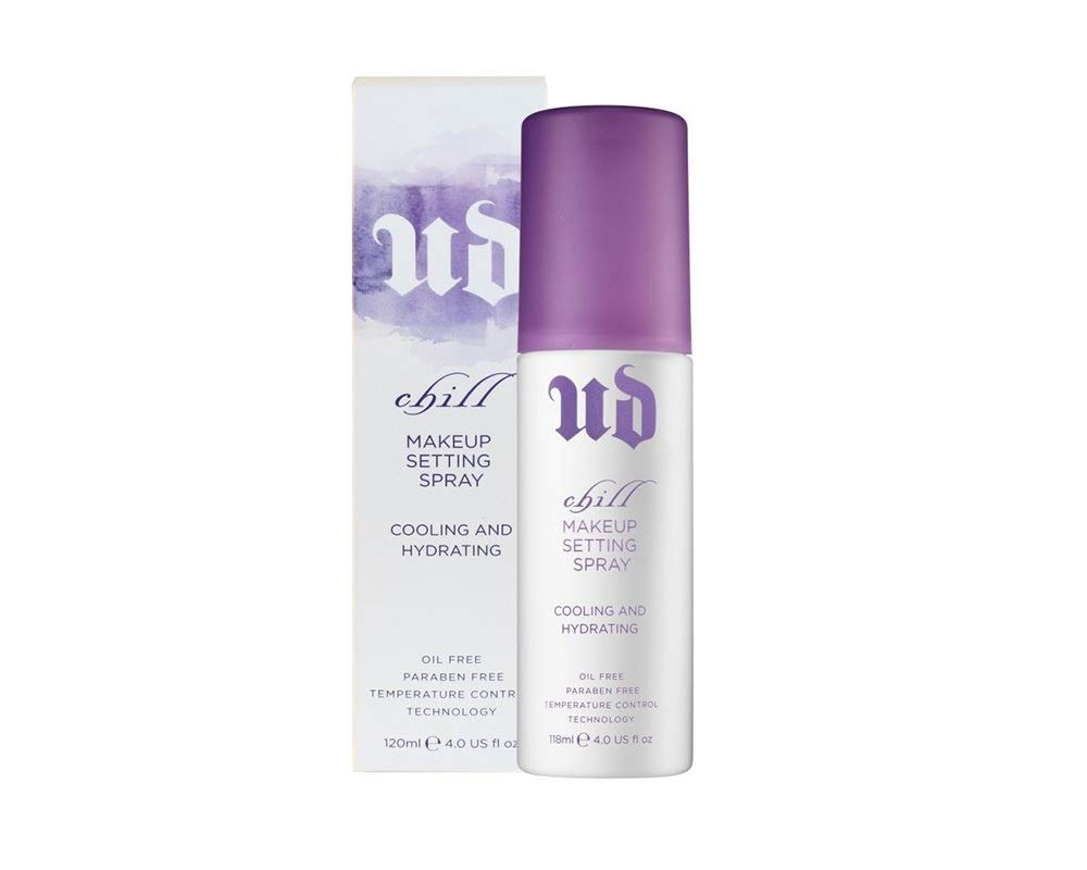 UD Chill Makeup Setting Spray - Size: 4 oz/Full Size - 100% Authentic