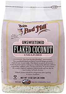 Bob's Red Mill, Unsweetened Flaked Coconut, 12 oz (340 g)