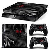 Vinyl Decal Protective Skin Cover Sticker for Sony PS4 Console And 2 Dualshock Controllers #12