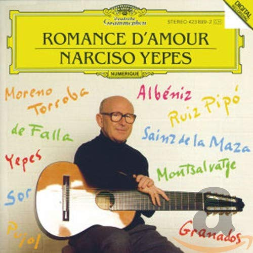 Narciso Yepes - Romance damour: Narciso Yepes: Amazon.es: Música