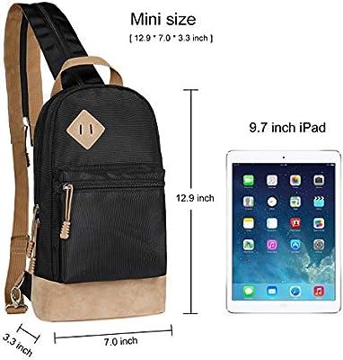 ... MEYFANCY Sling Bag Small Hiking Backpack 8b7a2b5cd5921