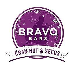 Bravo Bars Cran Nut and Seeds Nutrition Bar- Vegan