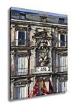 Ashley Canvas Facade Shield Main Square Madrid Spain, Wall Art Home Decor, Ready to Hang, Color, 20x16, AG5528389