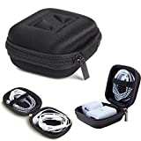VEVER Zipper Earphones Carrying Case Pouch Storage Bag Box for for Beats by Dr Dre Headphones - including Studio, Solo, Solo2, Solo HD, Wireless & More