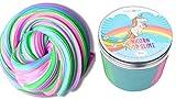 (US) Twinkle Unicorn Unicorn Poop Slime, Large Size 10 oz, Fluffy Slime, Unicorn Poop, Rainbow Poop Slime