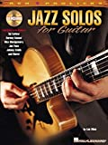 Jazz Solos for Guitar: REH Pro Licks Book/CD Pack