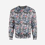 iPrint Men's Crewneck House Decor Pullover Sweater