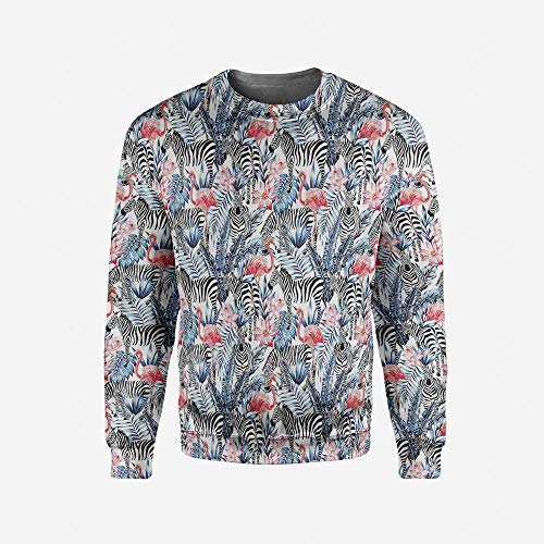 iPrint Men's Crewneck House Decor Pullover Sweater by iPrint