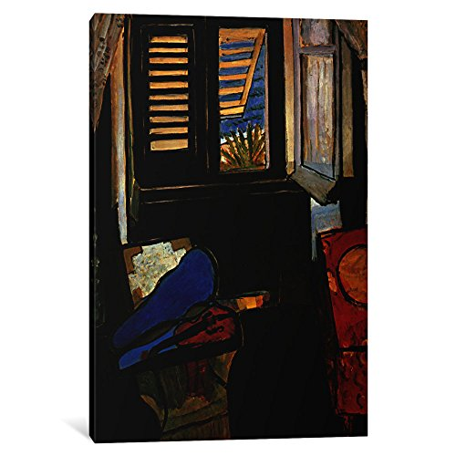 iCanvasART 1-Piece Interior with a Violin Canvas Print by Henri Matisse, 0.75 x 18 x 26-Inch