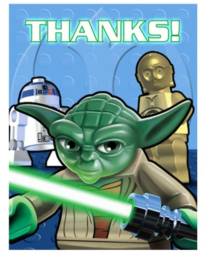 LEGO Star Wars Thank You Notes -