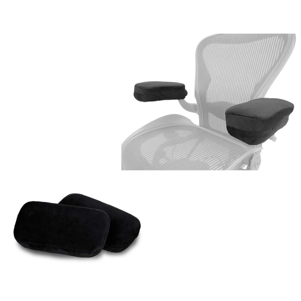 CHENGXI Chair Armrest Pad Office Seat Armrest Pad Memory Cotton Elbow Pillow Soft and Breathable (Two)