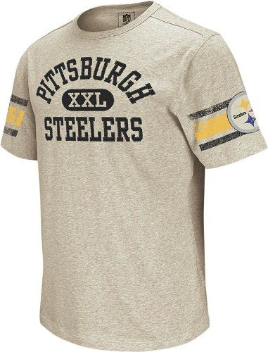 Amazon.com   Reebok Pittsburgh Steelers Vintage Applique T-Shirt ... 0525ed540