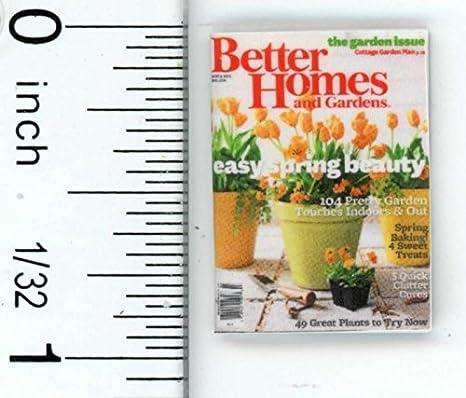 1:12th hecho a mano escala Miniatura Casa De Muñecas revista de entretenimiento