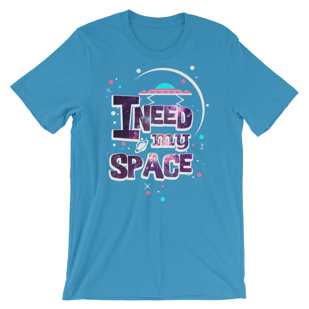 I Need My Space T-Shirt Graphic Shirts Funny Unisex Shirt