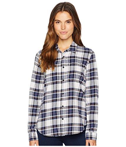 空白着飾るスキーム[VANS(バンズ)] レディースシャツ?ボタンダウン Meridian III Flannel Lavender Fog M
