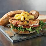 Omaha Steaks 8 (3.8 oz.) Loaded Salmon Burgers