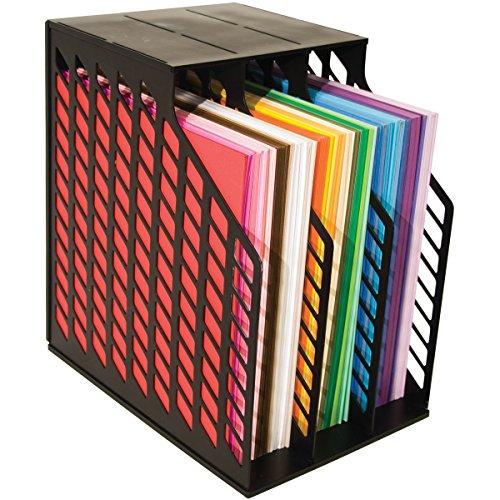 Advantus Cropper Hopper Easy Access Paper Holder, Black