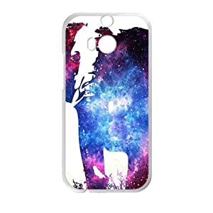 Abstract elephant and skull Cell Phone Case for HTC One M8