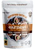 Earnest Eats Gluten Free & Sugar Free Oatmeal with Superfood Grains, Quinoa, Oats and Amaranth  - Mayan Blend - (Case of 6 - 12.6 oz)