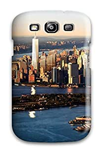 Galaxy Case Cover With City Nice Appearance Compatible With Galaxy S3