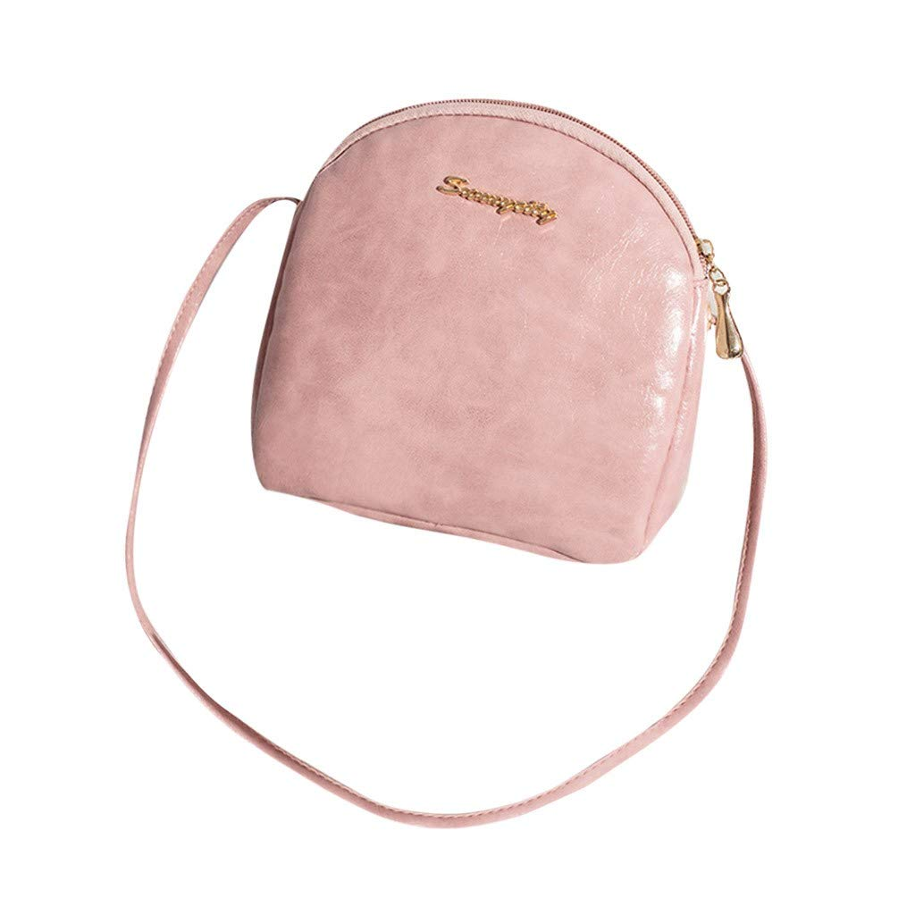 NRUTUP Vintage Lady Party Wallet Messenger Shoulder Messenger Bag Casual Mini Candy Bag(19X5X18cm,Pink)