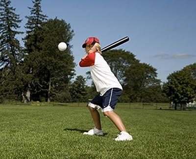 Franklin Sports. Aero-Strike Plastic Baseballs - Pack of 8 (70-mm)