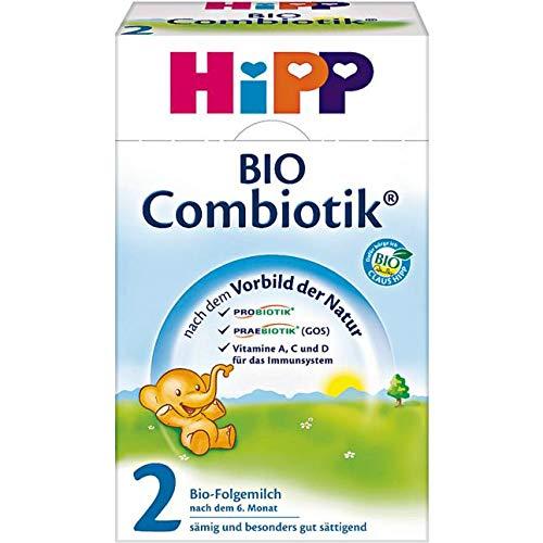Hipp Orgánico Combiotik 2 leche de continuación - a partir de 6 meses, 600 g: Amazon.es: Alimentación y bebidas