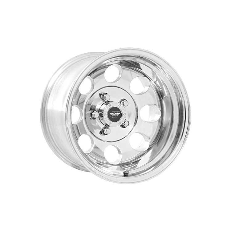 Pro Comp Alloys Series 69 Polished Finish Wheel (15 x 8. inches /5 x 114 mm, -19 mm Offset)