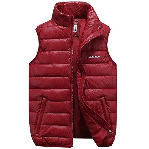 JYG Men's Quilted Puffer Vest