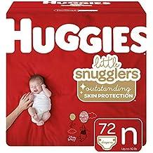 Huggies Little Snugglers Baby Diapers, Size Newborn, 72 Ct