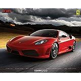 Ferrari 430 Scuderia Racing Red Sports Car Poster 16 x 20 inches