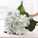Artificial Flowers Yiting European style single wedding home decoration,gray