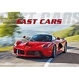 Fast Cars 2016 - Der Sportwagenkalender - Bildkalender quer (49 x 34) - Autokalender - Technikkalender