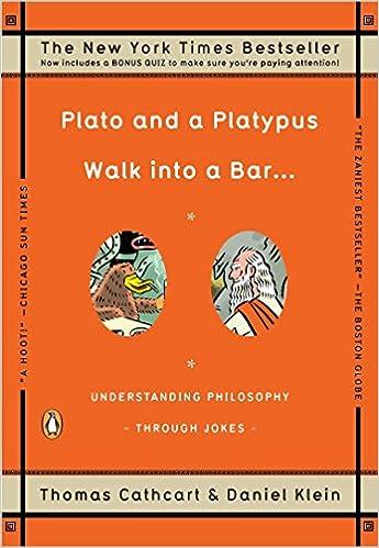Plato and a platypus walk into a bar                             ...
