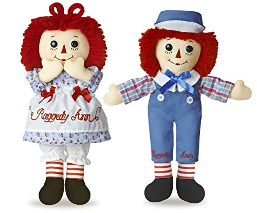Raggedy Andy Button Eye - Raggedy Ann & Andy Classic Medium Pair of 12