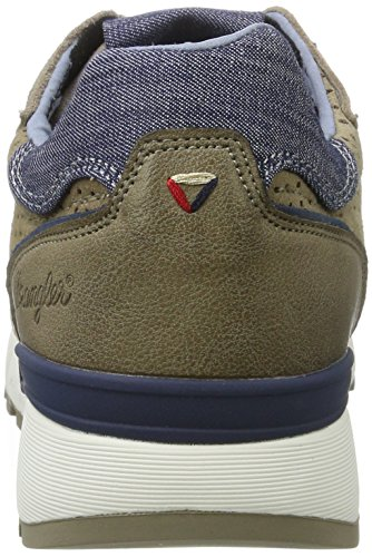 Wrangler Sunny Punched - Zapatillas Hombre Beige (Taupe)