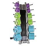 TKO's 10 Set Cardio Pump Set w/ rack