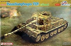 Dragon Models 1/35 Panzerkampfwagen VI(P) with Zimmerit Vehicle Model Building Kit from Dragon Models USA, Inc.