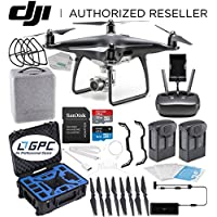 DJI Phantom 4 PRO Obsidian Edition Drone Quadcopter (Black) Premium Essential Bundle