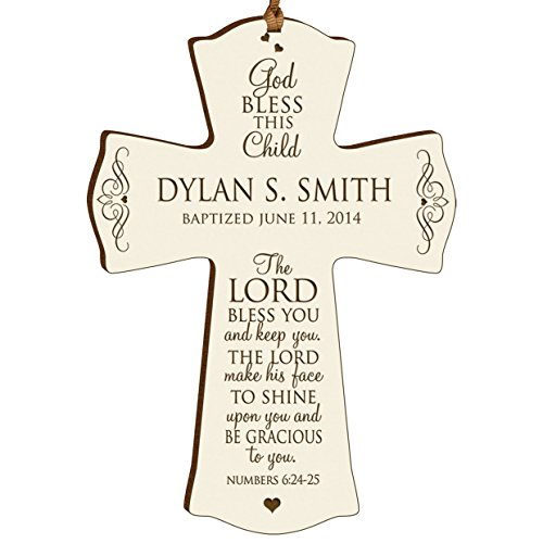 Personalized Baptism Communion Christening Decoration product image