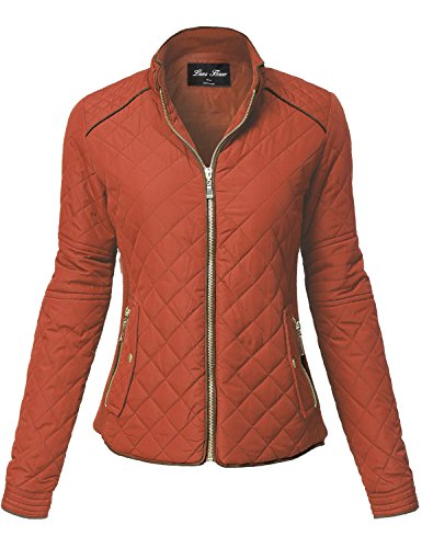 Quilted Detachable Hood Jacket - 7